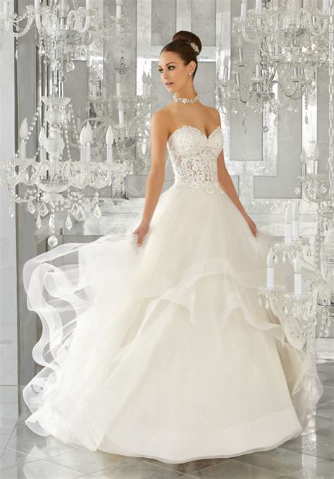 Wedding Style Dress by Wedding Dress Style 5570 Morilee