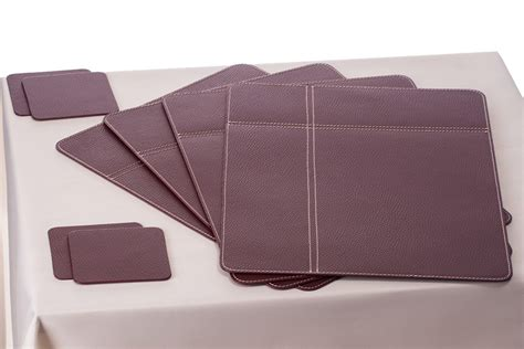 Leather Placemats For Conference Table Nikalaz Corporate And Horeca Conference Room Placemats Desk Mats