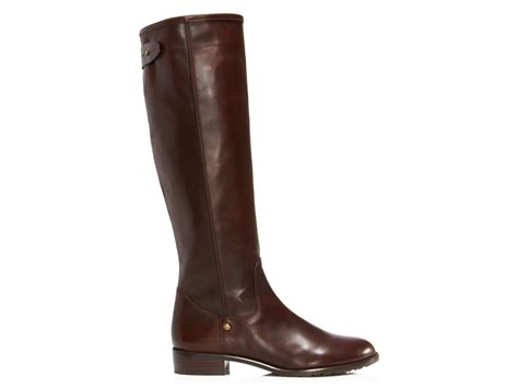 chocolate brown boots stuart weitzman boots gentrylo high shaft in