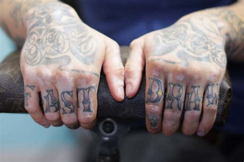 finger tattoos words the of tattooing s lifestyle magazine