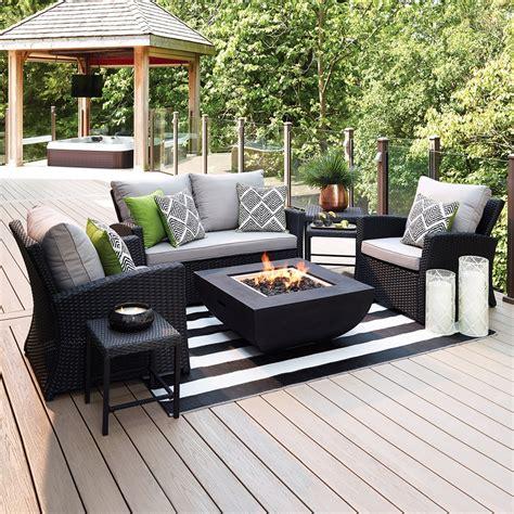 Allen roth piedmont 4 piece patio conversation set lowe s canada