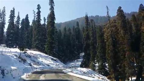 gulmarg gondola in january 2015 youtube srinagar to gulmarg by road in winters beautiful views