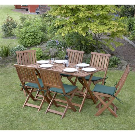 Concord 6 Seater Folding Garden Set The Uk S No 1 Outdoor Furniture Mall Of
