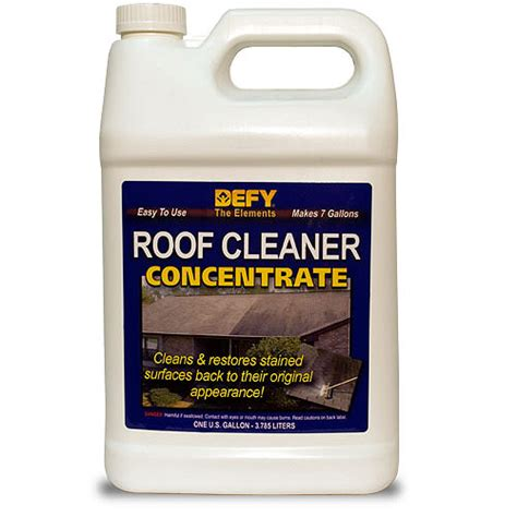 defy roof cleaner concentrate gal  searscom