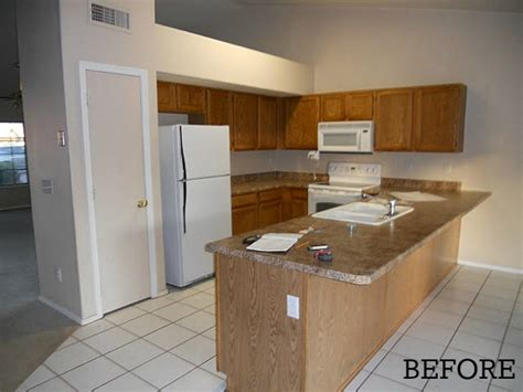 Empty Kitchen by Before After Amanda S Quot Empty Nest Quot Kitchen In Arizona