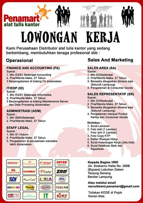 Lowongan Pekerjaan Surabaya lowongan kerja