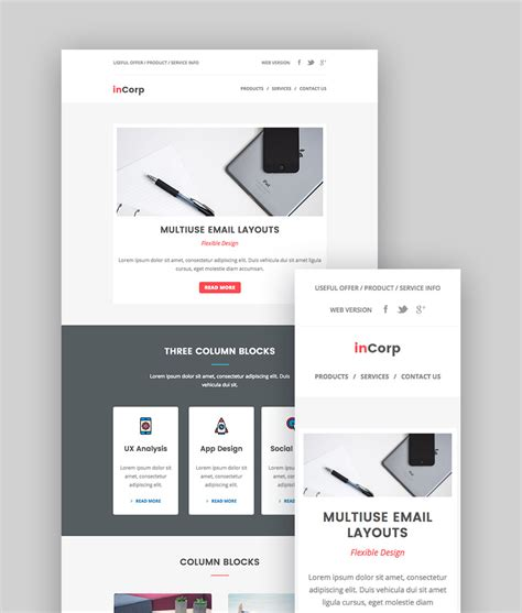 best email template designs product newsletter templates fresh best mailchimp