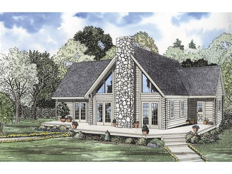Ranch With Walkout Basement Floor Plans by Yukon Bay Rustic Cabin Home Plan 073d 0012 House Plans