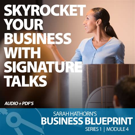 Questrom Mba Mod 4 Electives by Skyrocket Your Business With Signature Talks Illustra