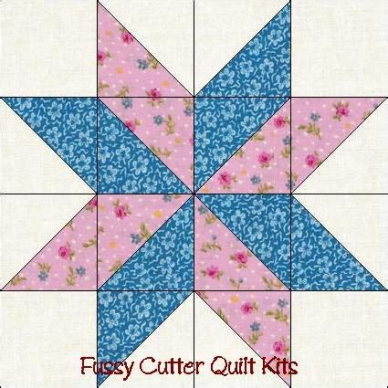 Free Patchwork Blocks - free easy quilt block patterns points pre cut