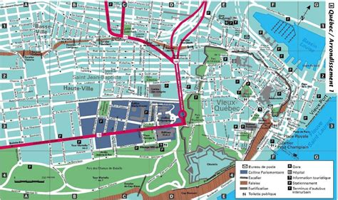 printable map quebec city large quebec maps for free download and print high
