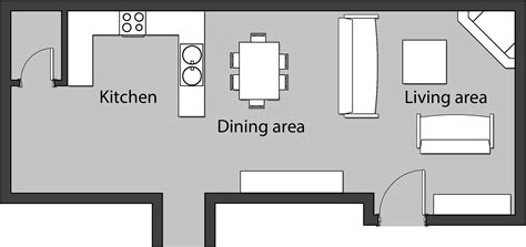 Unified & open plan spaces: Ways to delimit different