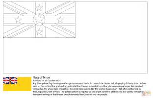 Flag Of Niue Coloring Page Free Printable Coloring Pages Fiji Flag Coloring Page