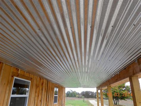 galvanized ceiling galvanized metal