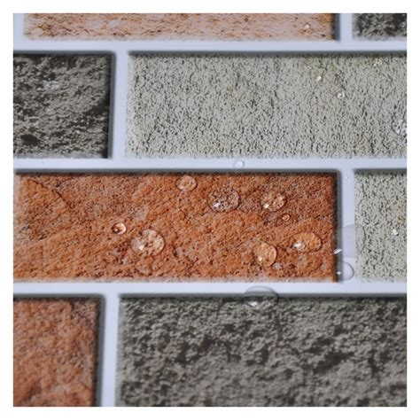 glue on tile backsplash peal and stick kitchen backsplash adhesive wall tile 10