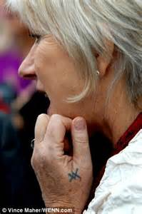 celebrity french meaning helen mirren reveals true meaning of her tattoo daily