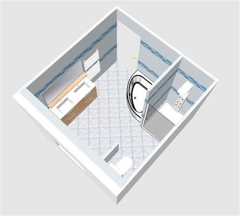 Amenagement Salle De Bain 9m2 by Am 233 Nagement Salle De Bain De 9m2 3x3 R 233 Solu 34