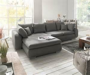 grau sofa ecksofa maxie 330x178 cm grau mit schlaffunktion m 246 bel