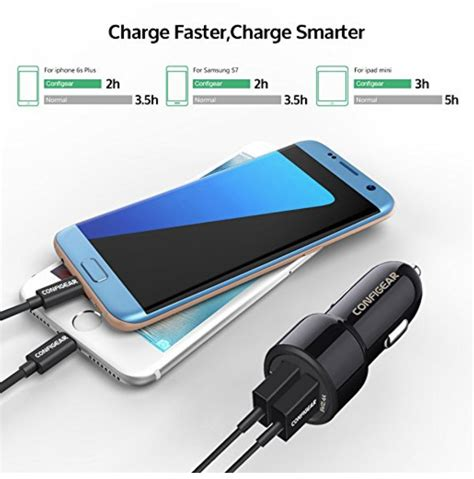 Car Charger Necular 2 Ports Promo configear charge 2 port usb car charger only 6 99