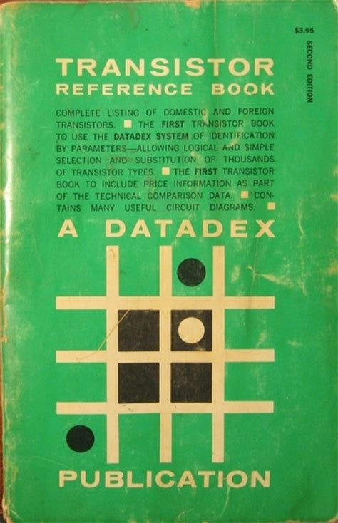 transistor book eham net classifieds for sale datadex transistor data book
