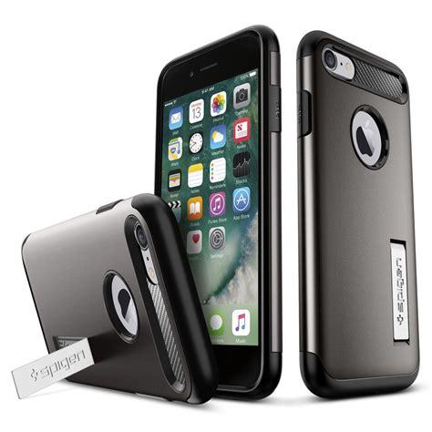Spigen Slim Armor Apple Iphone 7 Plus 55 Gold spigen slim armor skal till apple iphone 8 7 gunmetal themobilestore