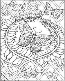 Adult coloring pages butterfly freefree coloring pages for kids free