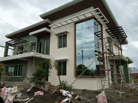 modern two storey house designs philippines house design plans philippines two story