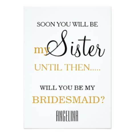 Will You My by Will You Be My Bridesmaid Cards Zazzle