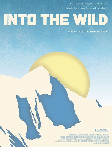 film into the wild adalah into the wild movie poster dvd rebrand on behance