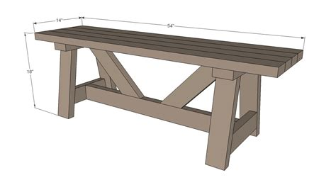 simple 2x4 bench plans diy bench made from 5 2x4s providence bench i if