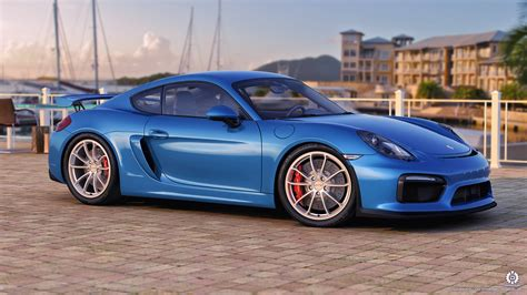 renault sport rs 01 blue porsche cayman gt4 by dangeruss on deviantart