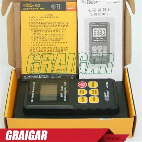 Gauss Tesla Electromagnetic Radiation Meter Smart Sensor Ar1392 Dm ar1392 emf detector meter electromagnetic field radiation