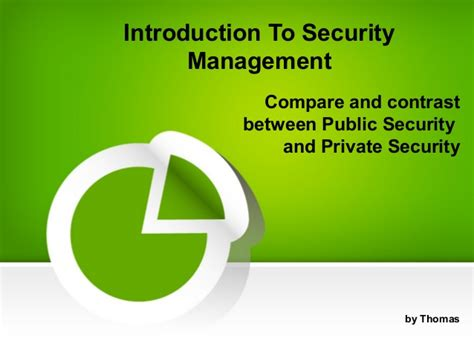 introduction  security management  compare
