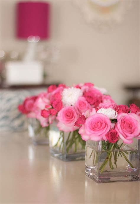 simple flower arrangements for tables simple arrangement ideas for the tables if you want to go
