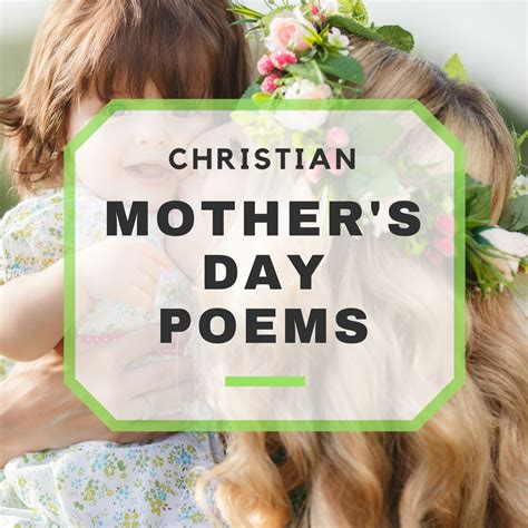 christian mothers day christian s day poems