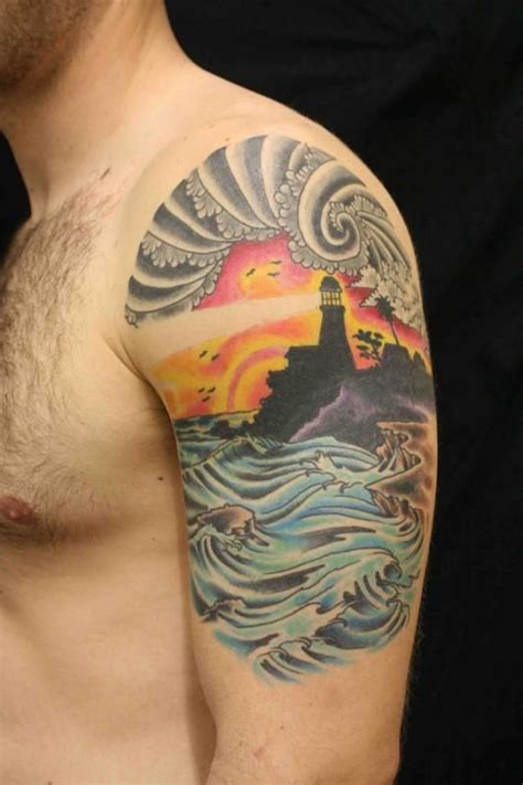 lighthouse tattoos lighthouse tattoo picture last