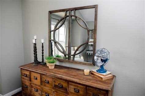 Rustic Dresser And Mirror The Dresser In The King S Master Master Bedroom Dresser