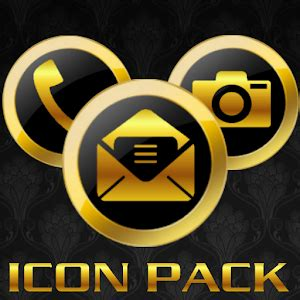 gold icon themes icon pack gold luxury theme android apps on google play