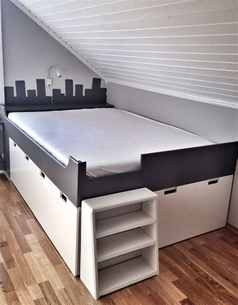 diy ikea storage bed ikea hacks for kids mommo design