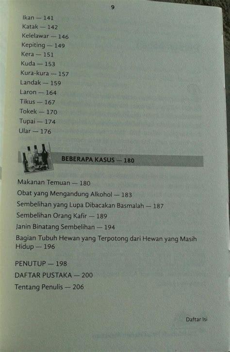 Buku Kitab Akibat Makanan Yang Haram buku ensiklopedi halal haram makanan toko muslim title