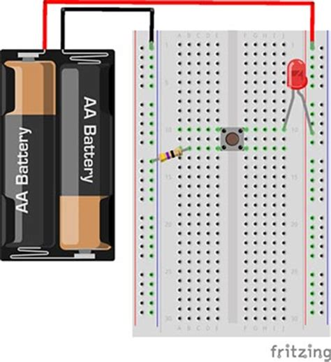 circuit to breadboard how to use a breadboard