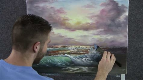 acrylic painting kevin paint with kevin hill sunset