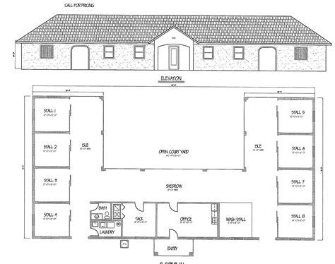 easy horse barn design software cad pro horse barn floor design thefloors co