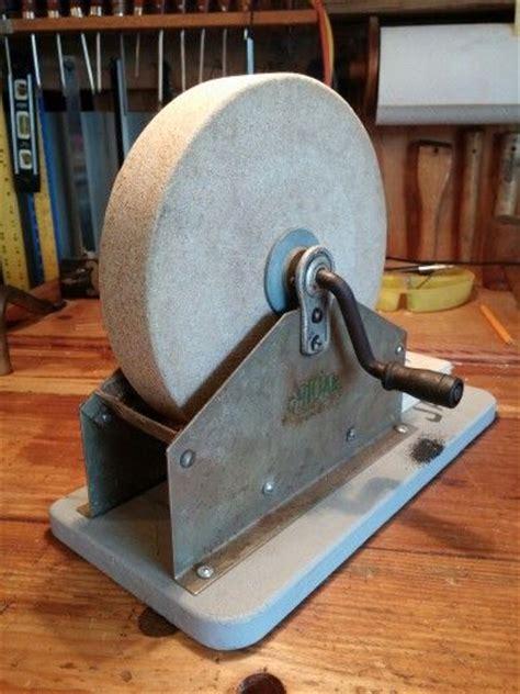 manual sharpening wheel ohioan 8 quot water bath crank sandstone