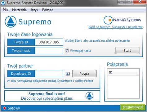 supremo remote desktop galeria zdj苹艸 zrzuty ekranu screenshoty supremo