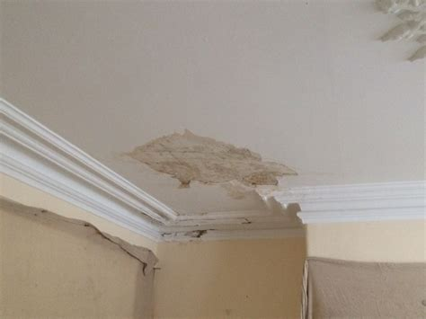 Cornice Repair And Lath Plaster Ceiling Repairs To A North Stucco Ceiling Repair