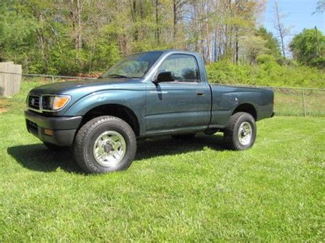 1995 Toyota Tacoma 4x4 For Sale Purchase Used 1995 Toyota Tacoma Reg Cab 4x4 2 7 M T Alum