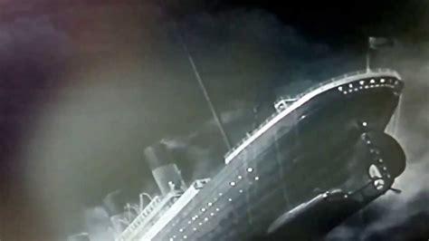 Titanic 1953 Film Titanic 1953 Sinking With Hindenburg Disaster Audio Youtube