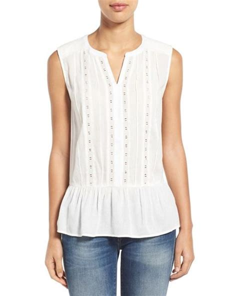 Sleeveless Blouse N lace sleeveless blouse mexican blouse