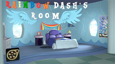 rainbow dash room sfm dl rainbow dash s room by juicedane on deviantart